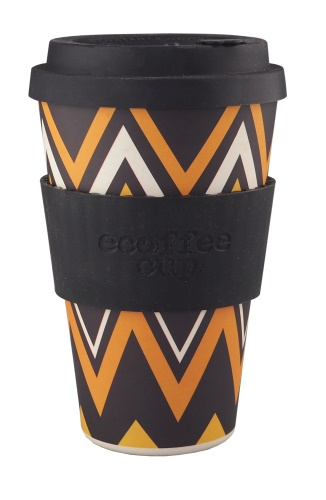 Ecoffee Cup To Go Becher ZIGNZAG (400 ml)
